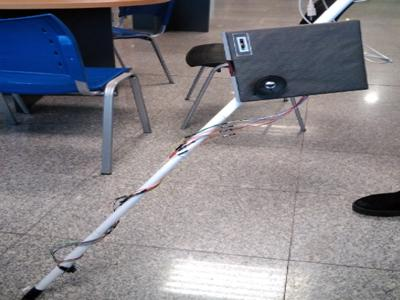 Image for project called Multifunctional walking stick for the visually impaired.