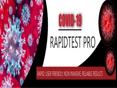 Image for project called COVID-19 Rapid TestPro - New testing method for COVID-19